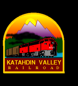 Katahdin Valley Railroad Sign