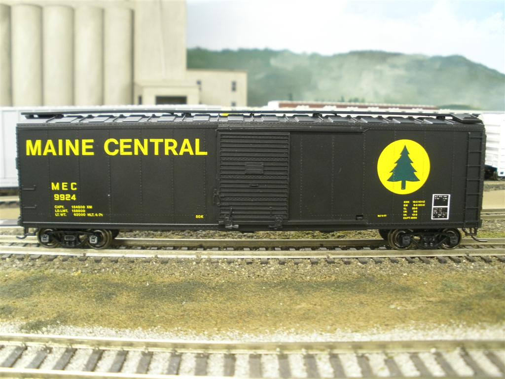 Maine Central 50 ft Box Car